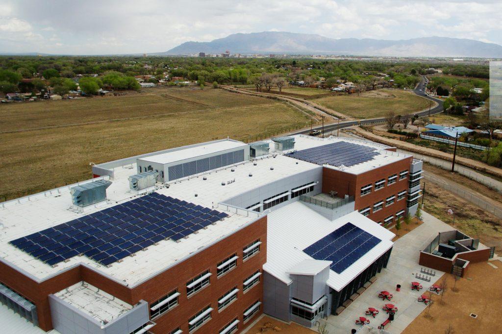 Rio-Grande-High-School-Albuquerque-Solar-Installation