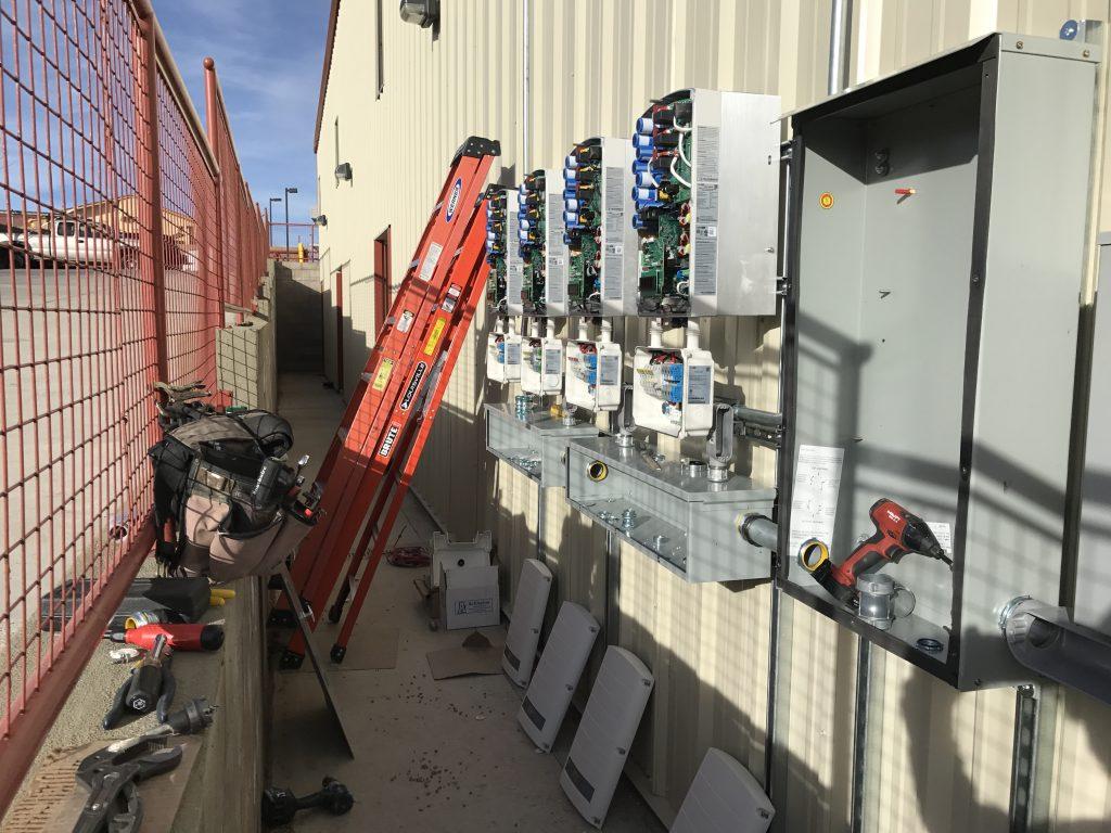 Santa Fe Commercial Solar Inverters