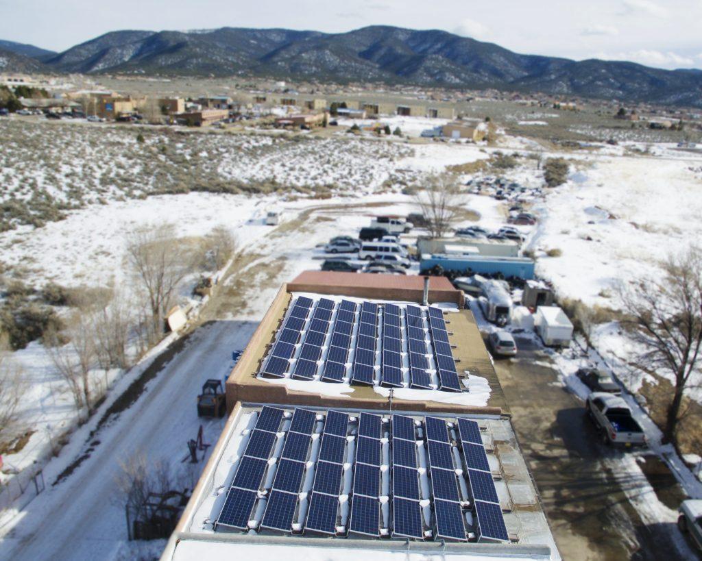 Taos Commercial Solar Installation