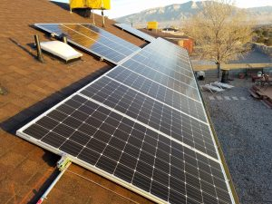 Albuquerque Solar Installation, Roof Mount