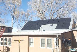 Santa Fe Solar PV Installation