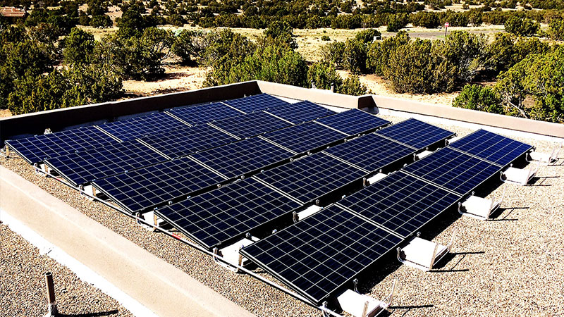 Espanola Solar Panel Installation