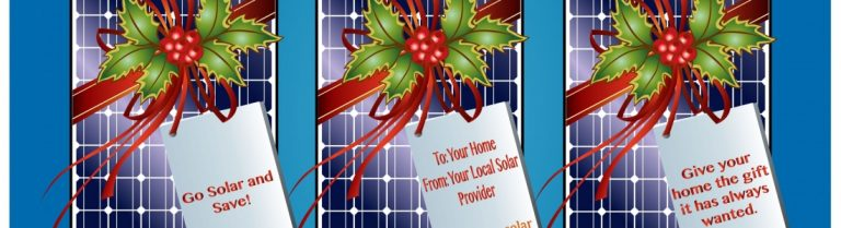 Go Solar This Season