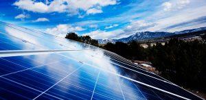 taos ground mount solar installation