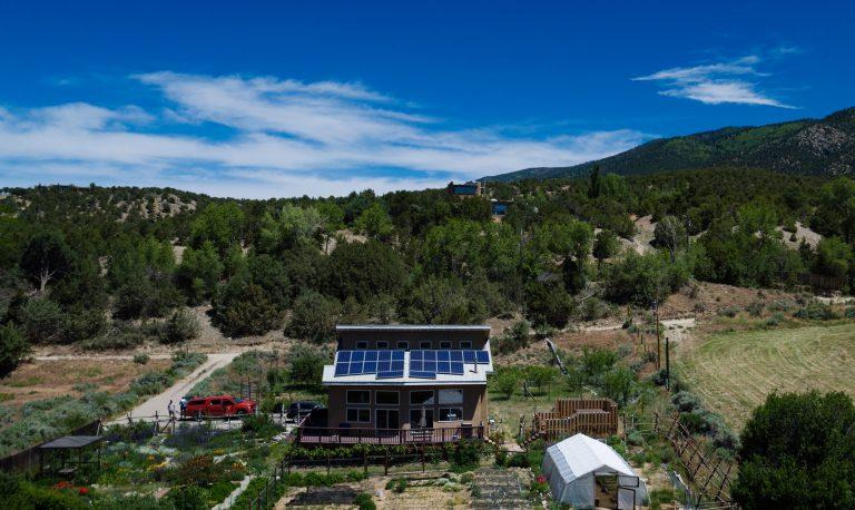 Roof Top Solar Installation
