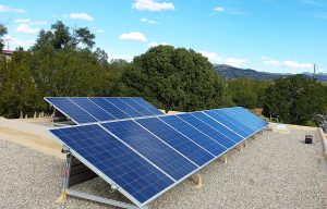 Bernalillo County Solar Installation, Roof Mount