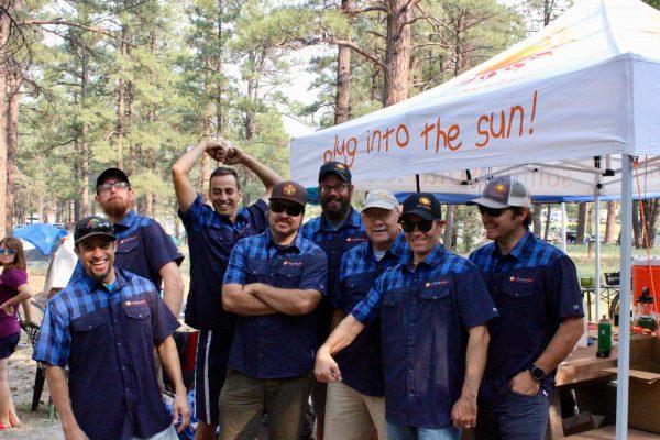 Sol Luna Solar Mountain biking team