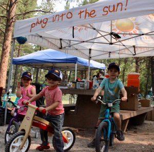Future Sol Luna Solar mountain bike team