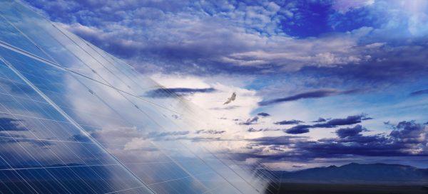 Solar installation, New Mexico