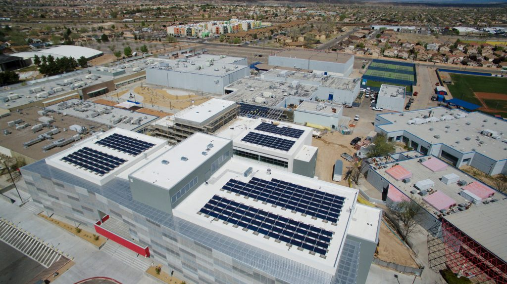 Commercial Solar Installation in Albuquerque, NM