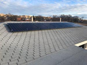 Solar Installation, Santa Fe, New Mexico