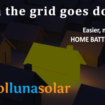Home Battery Storage with Solar PV