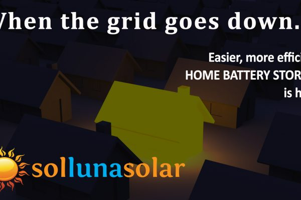 Why You Should Own A Solar Home Battery System