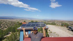 Local Solar Installation, Sandia Park, NM