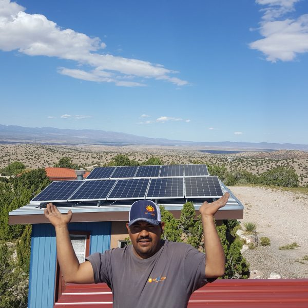 Local Solar Installation, Sandia Park, NM