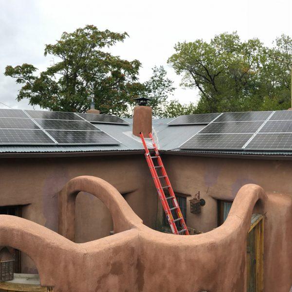 Santa Fe Solar installation