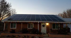 Belen Solar Installation, Residential