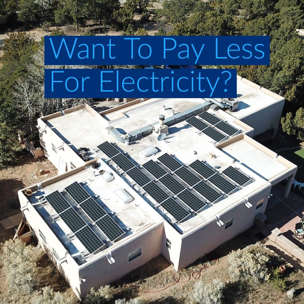 Pay Less for Electricity with Solar PV Installationb