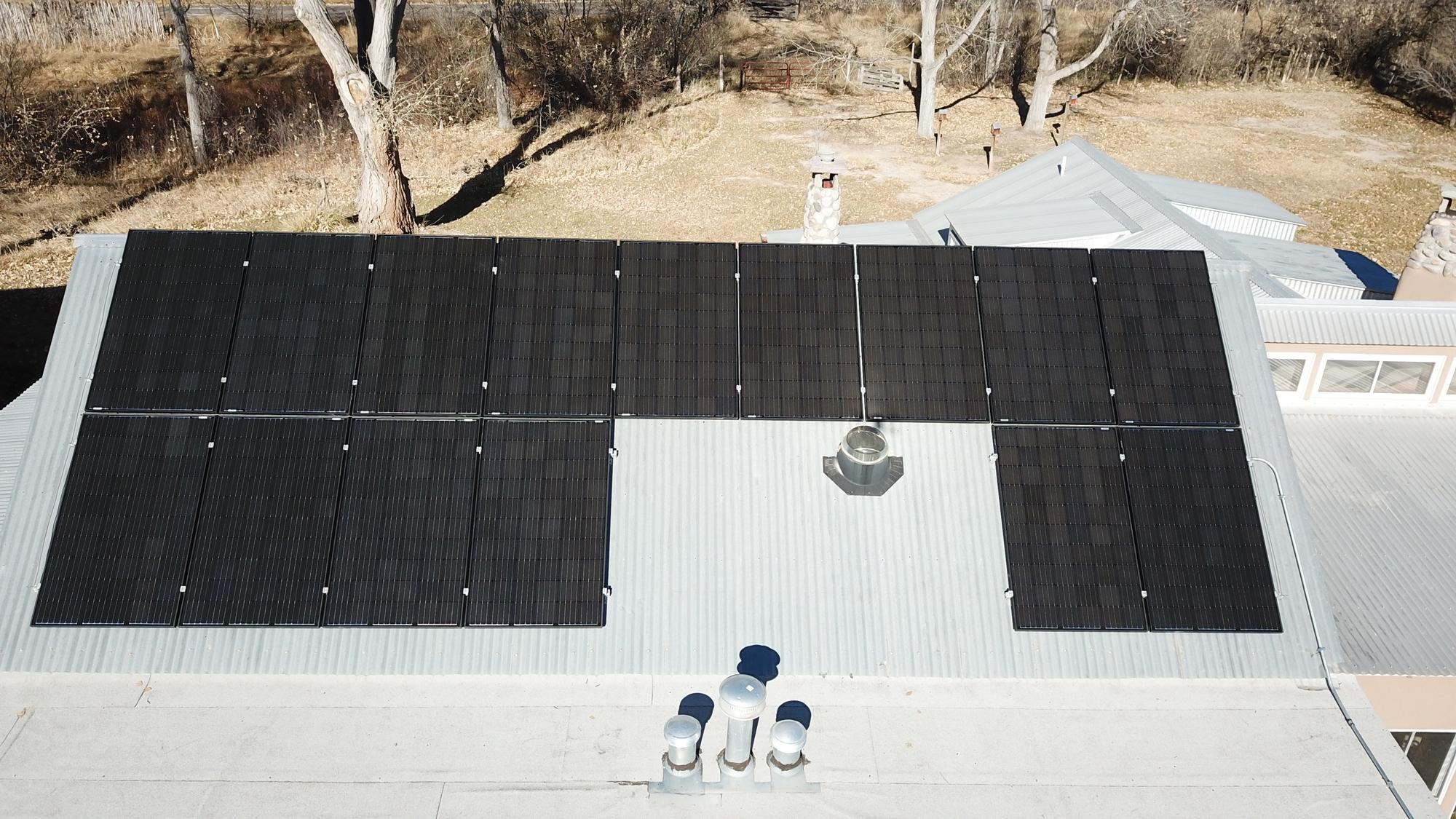 Santa Fe Solar Installation Saves Customers Money