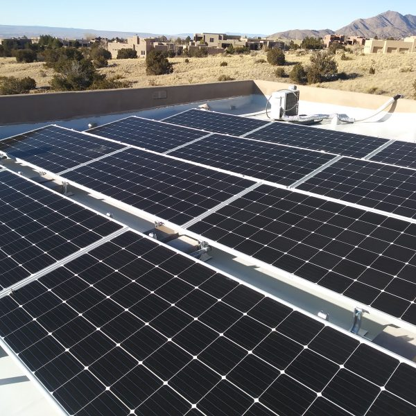 Albuquerque residential solar installation 1