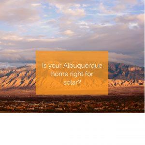 Albuquerque solar panel installation