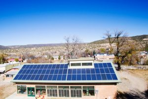 Embudo-Valley-Library-Solar-Panel-Installation