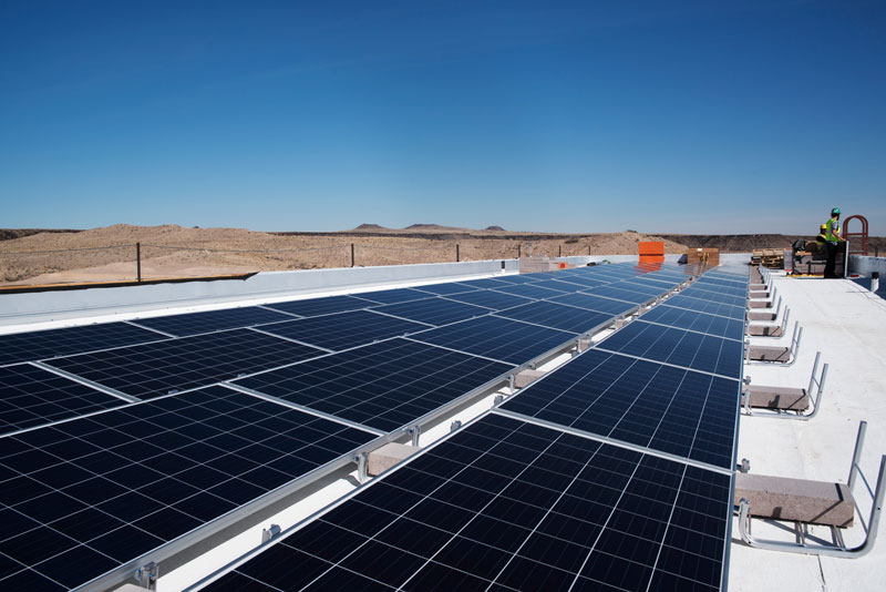 experienced solar installer school