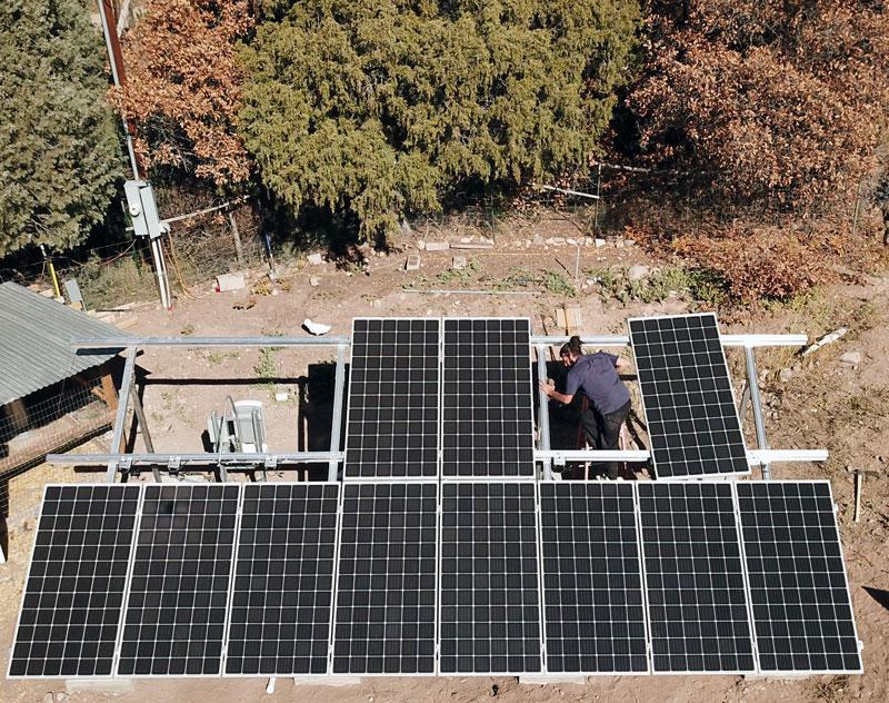 residential solar installer, Santa Fe, New Mexico