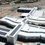 School and government solar installation