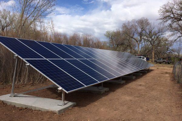 Espanola solar installation