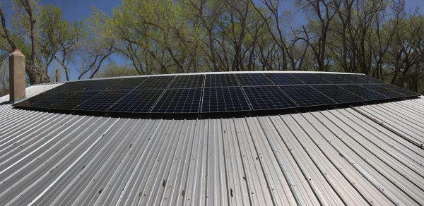 santa-solar-panel-installation
