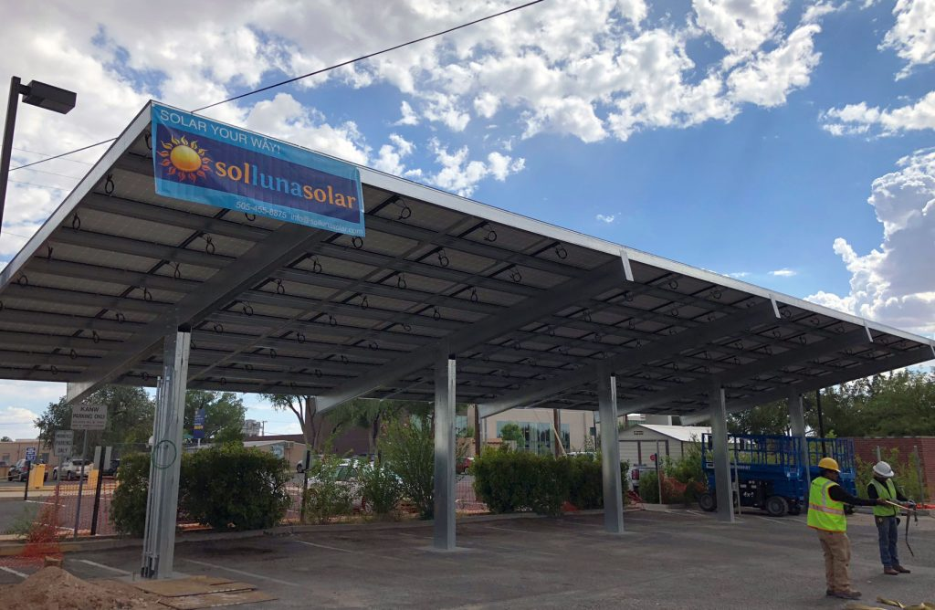 Commercial Solar Installation, Albuquerque, New Mexico