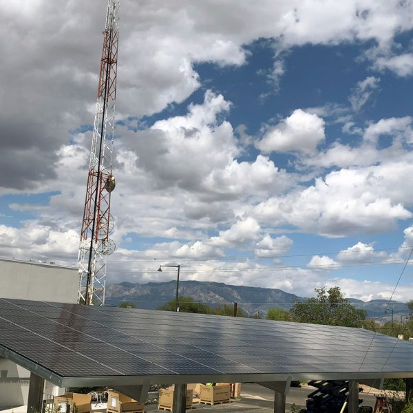 KANW Solar Carport in Albuquerque, New Mexico