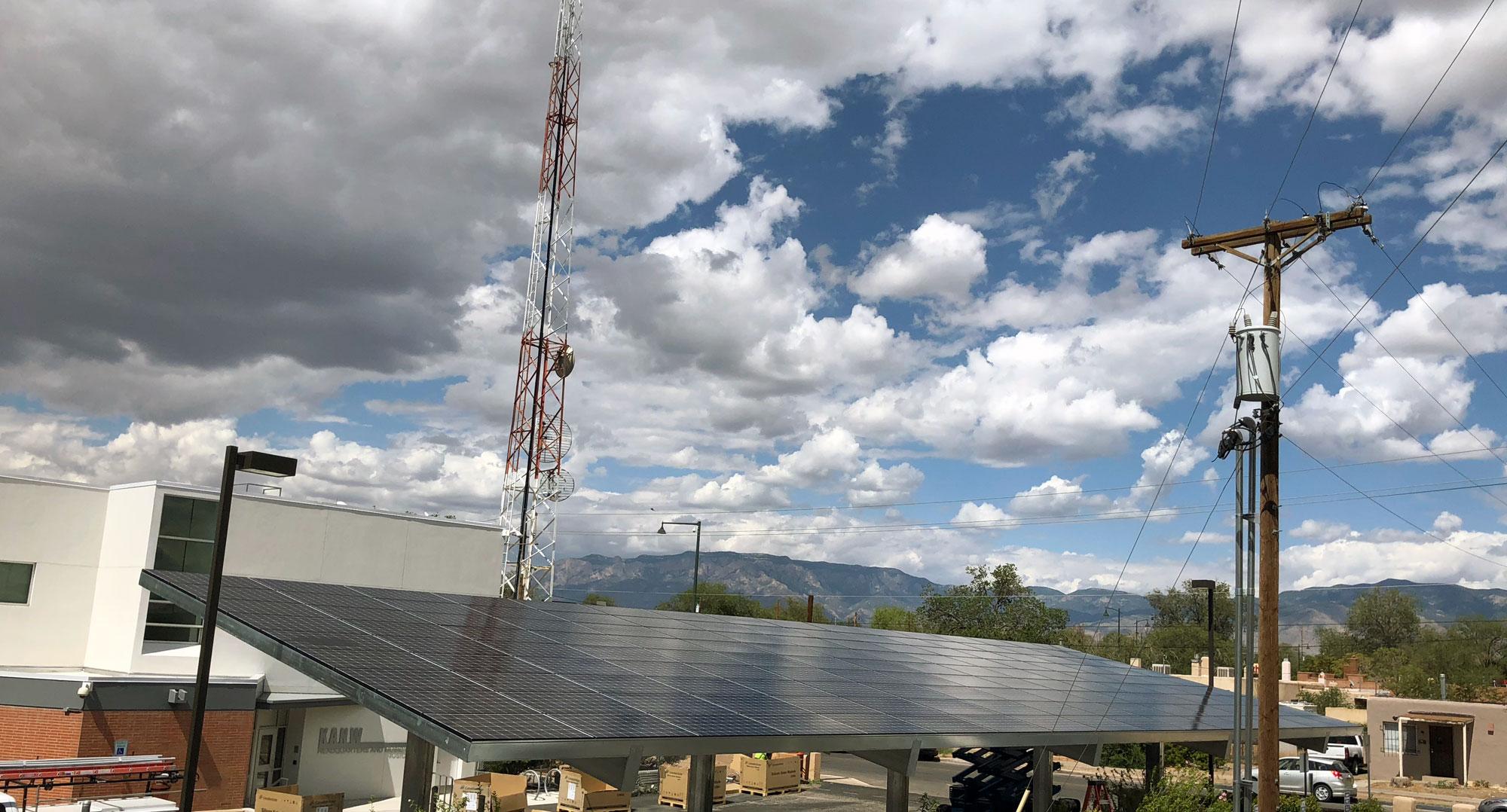 Kanw Solar Carport Nears Completion Sol Luna Solar