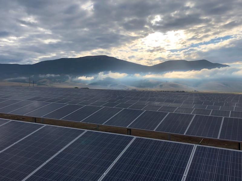 Utility Solar Installation - New Mexico