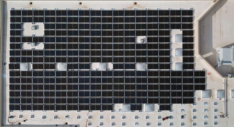 UNM Solar Panel Installation, Los Lunas, New Mexico