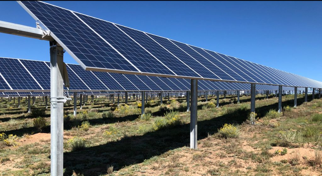 Eagle Nest Megawatt Solar Array, New Mexico