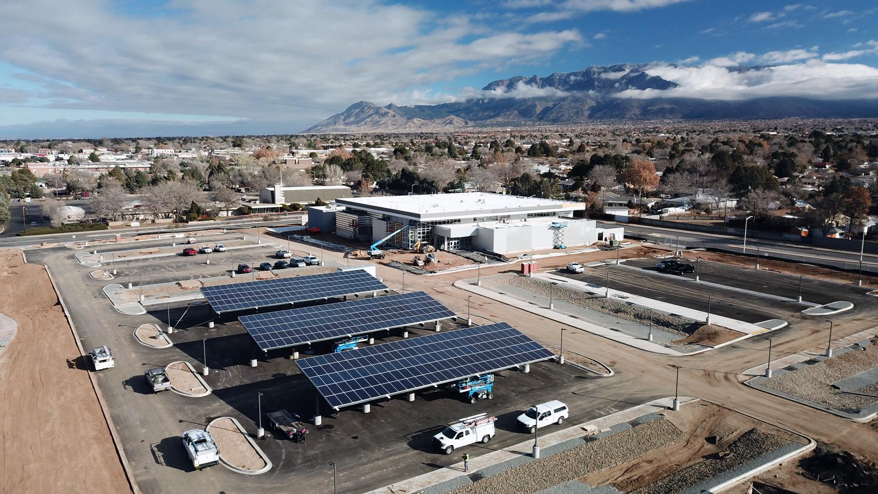 Albuquerque Public Schools Solar Installation, Sol Luna Solar
