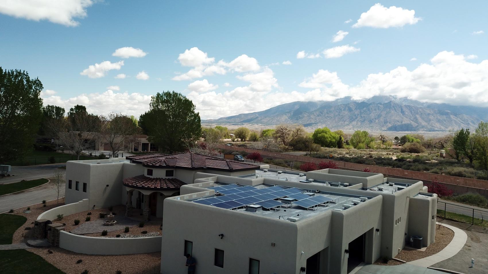 Albuquerque Solar Installation, residential