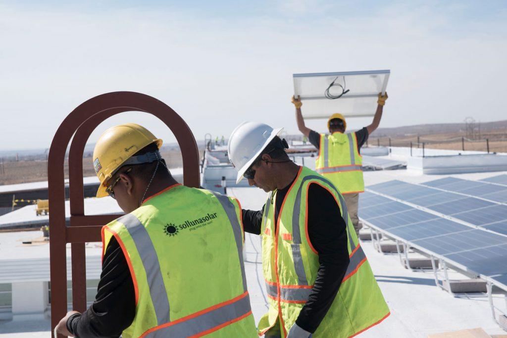 New Mexico Schools Solar Installation, Sol Luna Solar, Commercial Solar Installer, Developer