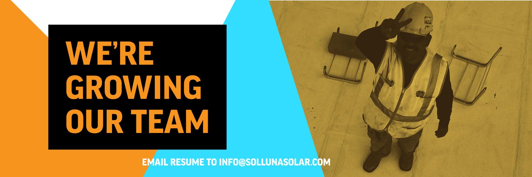 Career Opportunities at Sol Luna Solar