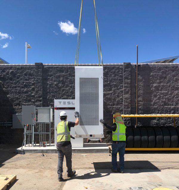 commercial energy storage, solar PV, New Mexico